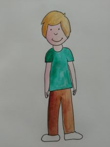 enfant aquarelle