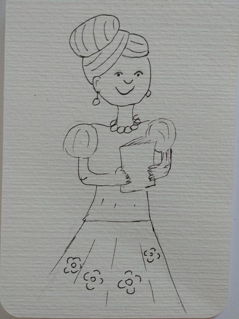 dessin maitresse