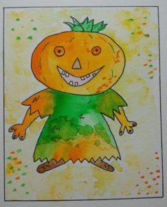 dessin enfant pour halloween