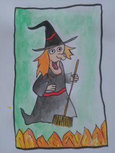 Comment dessiner une sorcière