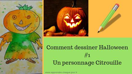 Comment dessiner Halloween #1 un personnage Citrouille
