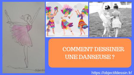 comment dessiner une danseuse
