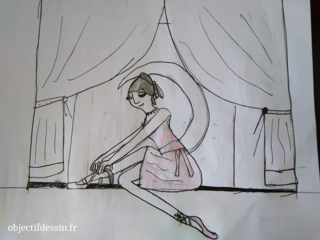 dessin danseuse Ibtissam 9