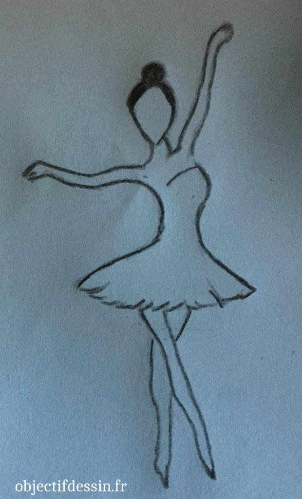 dessin danseuse severine
