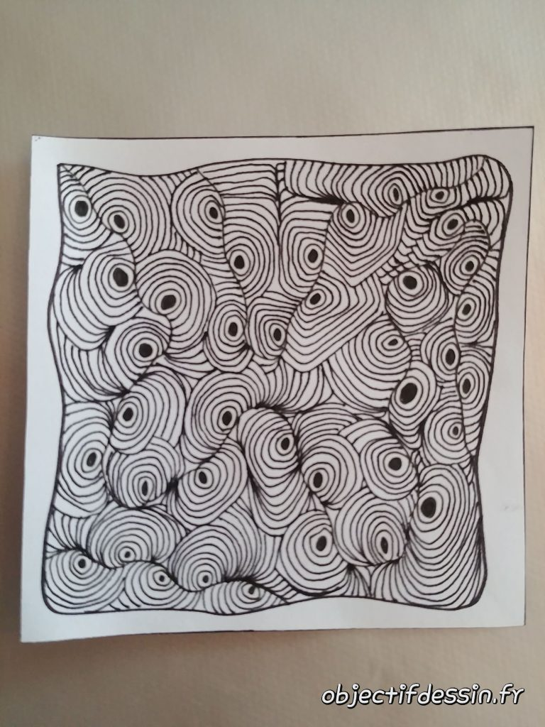 zentangle rond