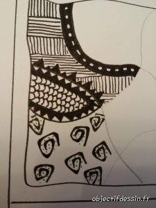 tuto zentangle facile