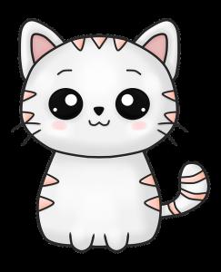 dessin-chat-kawaii