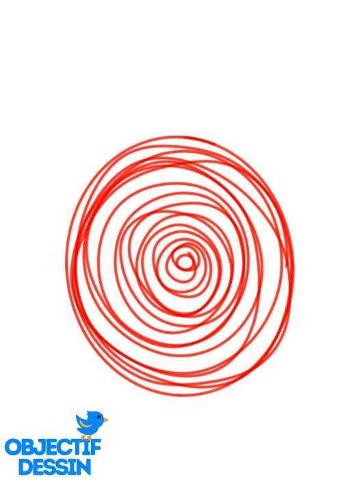 dessin de coccinelle spirale 02