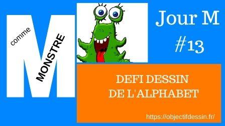 13.. Défi Dessin Monstre