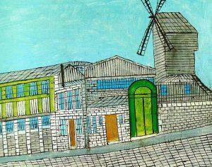 Louis Vivin Le Moulin De La Galette