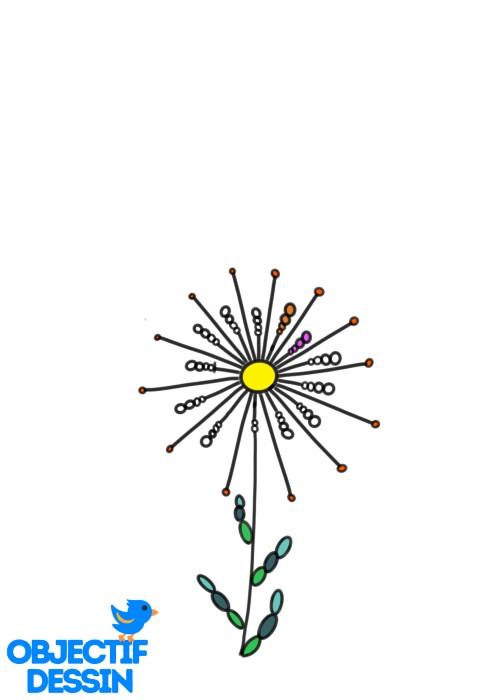 Couleur Fleur Graphique (6)