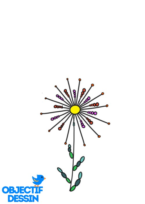 Couleur Fleur Graphique (8)