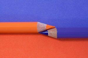 couleurs complementaires bleu orange