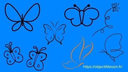 Croquis Rapide Papillon