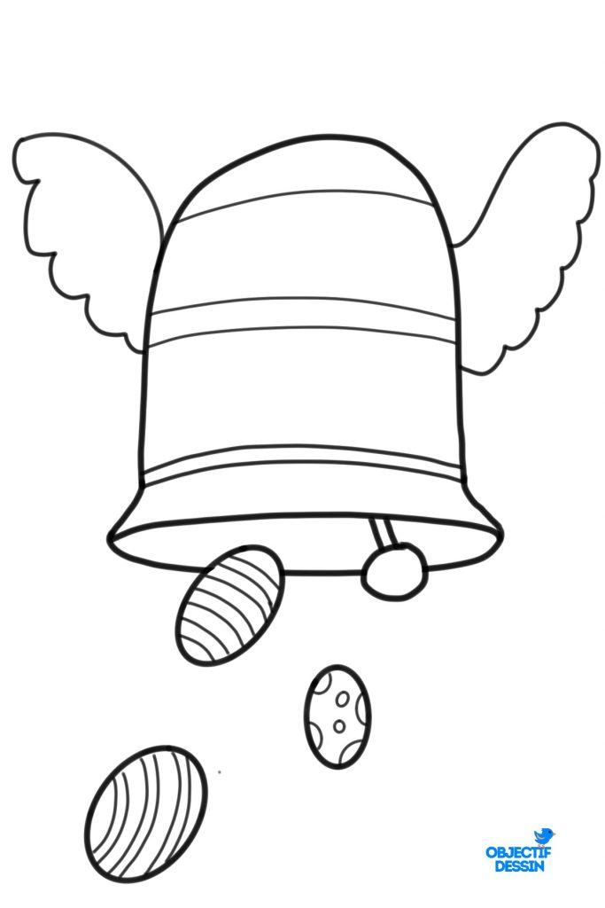Dessin Cloche Paques (10)