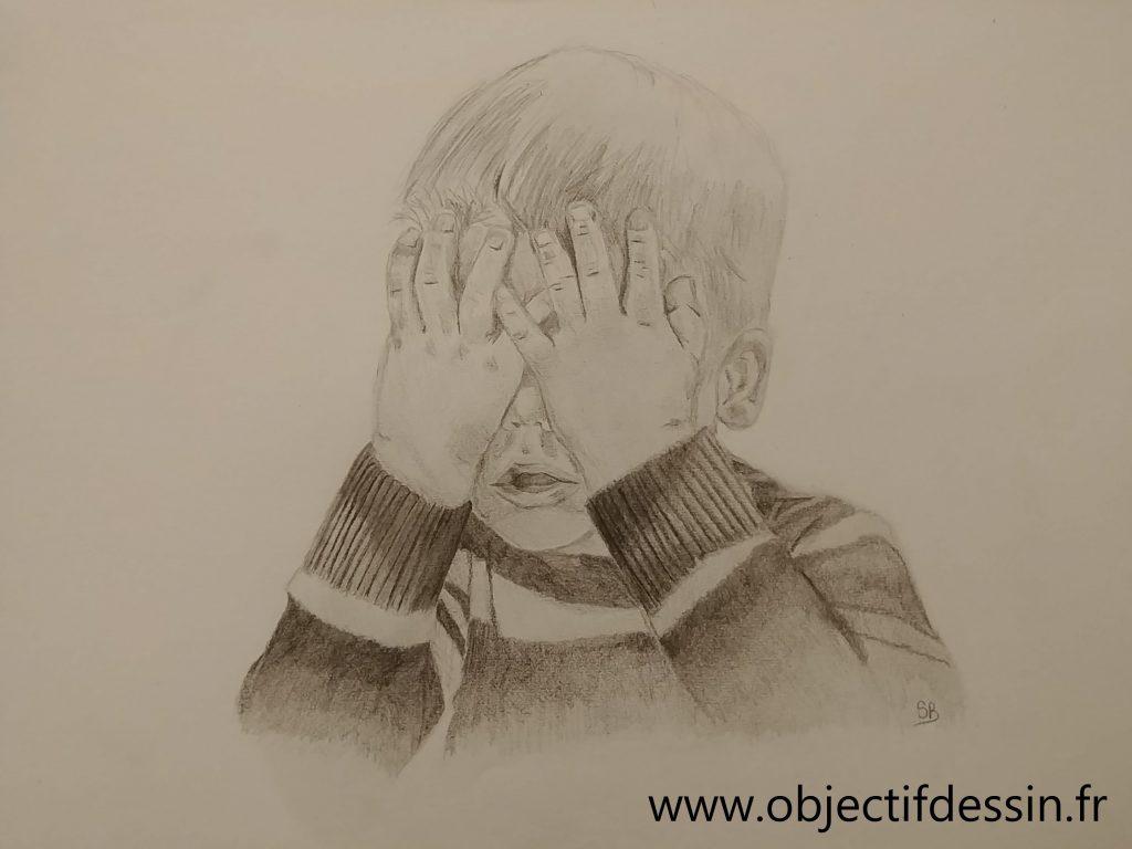 Dessin Enfant Crayon