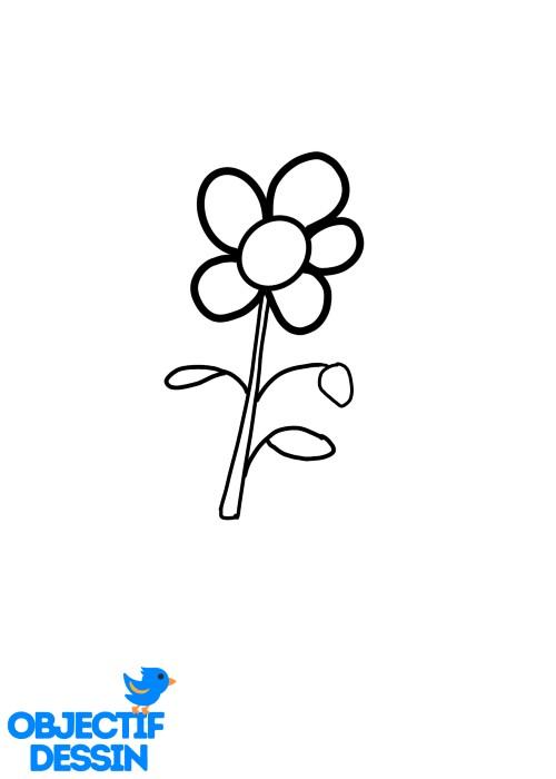 Dessin Fleur Fraise (15)