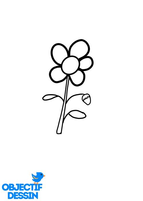 Dessin Fleur Fraise (16)