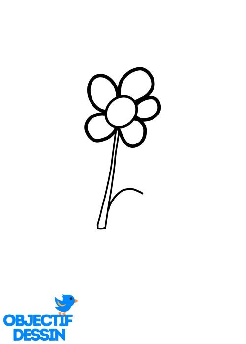 Dessin Fleur Fraise (9)