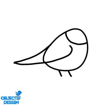 Dessin Oiseau Sur Branche (5)