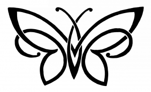 Dessin Papillon Minimaliste