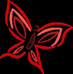 Dessin Papillon Minimaliste Noir