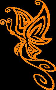 Dessin Papillon Minimaliste Profil