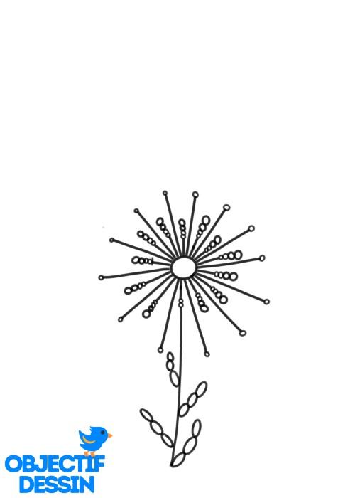 Fleur Graphique (10)
