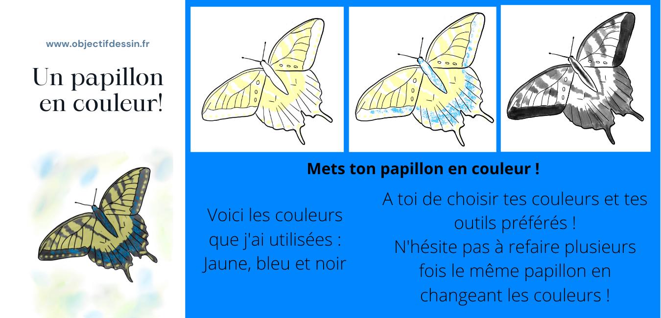 Pas A Pas Complet Dessin Facile Papillon (4)