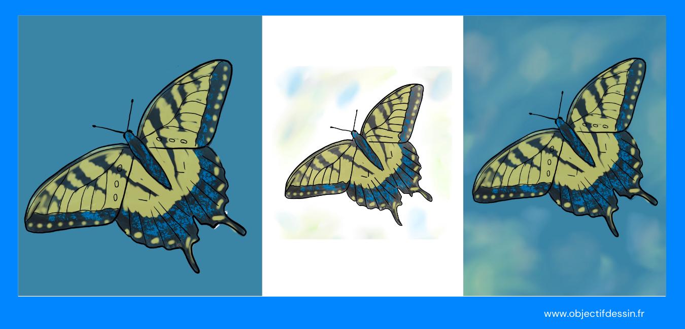 Pas A Pas Complet Dessin Facile Papillon (5)