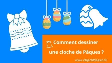 Visuel Dessin Cloche De Pâques