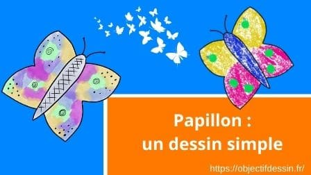 Papillon Un Dessin Simple