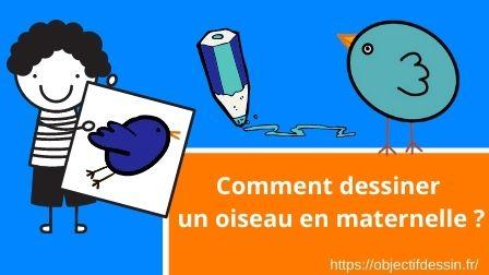 Visuel Dessin Oiseau En Maternelle