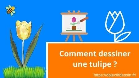 Visuel Une Fleur Tulipe