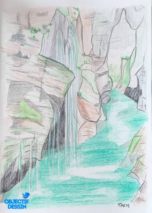 Dessin Ruisseau Olivier